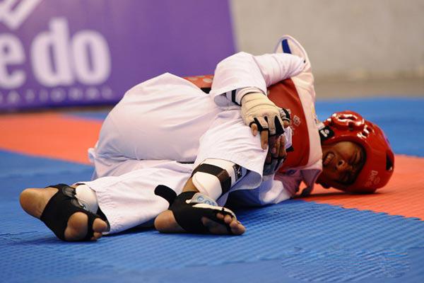 Các chấn thương có thể xảy ra trong tập luyện võ thuật