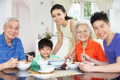 Chế độ dinh dưỡng dành cho nhiều thế hệ