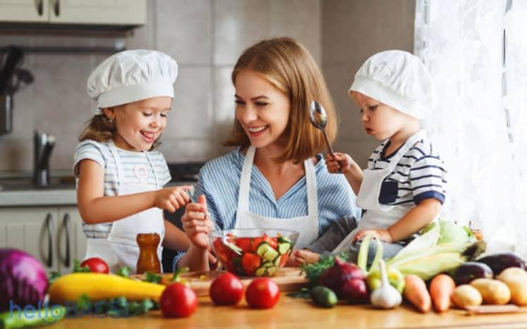 Lợi ích của các thực phẩm đối với trẻ nhỏ