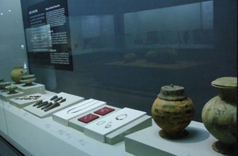 Các di vật được trưng bày tại bảo tàng Bokcheon