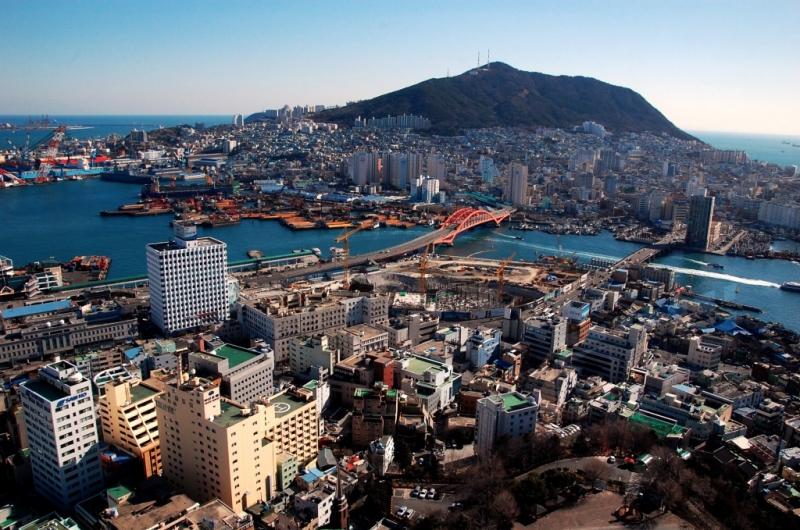 Toàn cảnh thành phố Busan