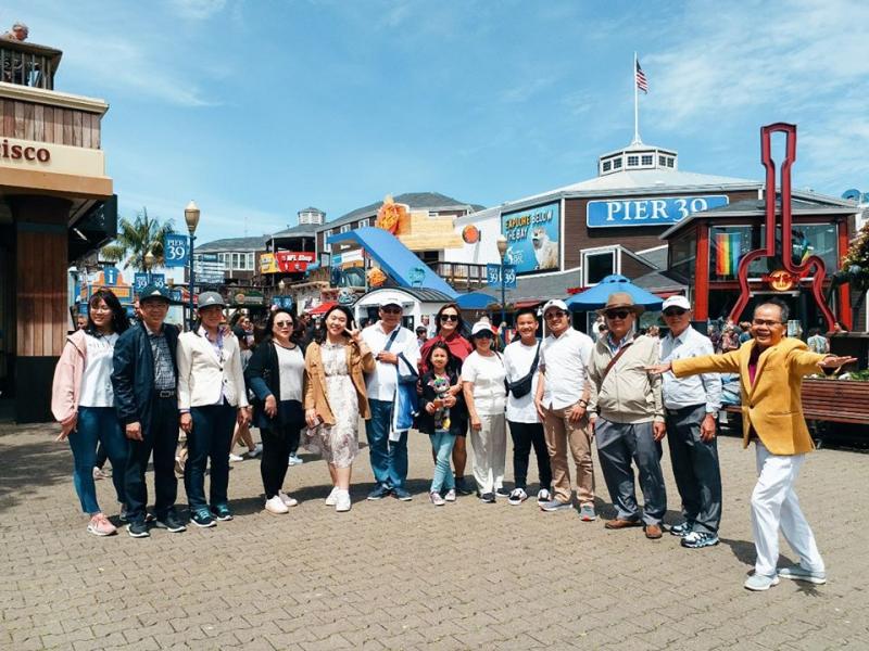 Một tour du lịch nước ngoài được Vietravel tổ chức