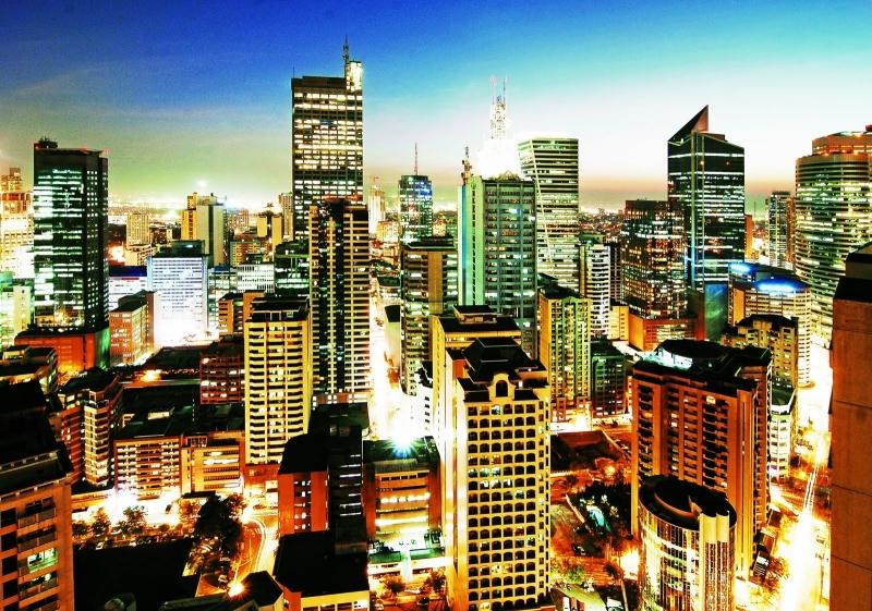 Vẻ đẹp quyến rũ của thủ đô Manila về đêm
